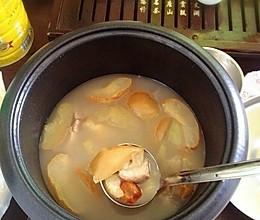 苹果雪梨瘦肉汤的做法