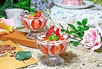 #春季减肥,边吃边瘦#草莓慕斯的做法