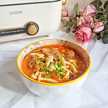 番茄菌蔬肥牛汤