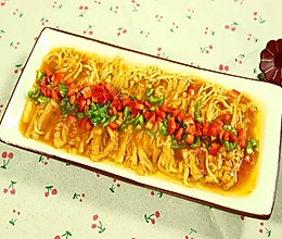 【微体】酸甜开胃 | 茄汁金针菇的做法