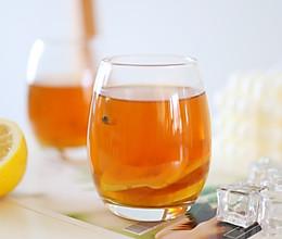 自制夏日解渴神仙水 营养清爽活力满满 百香果柠檬蜂蜜茶的做法