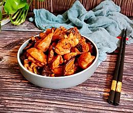 超级下饭的香菇炖鸡。的做法