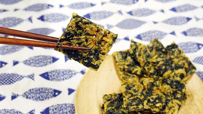 紫菜虾皮薄饼