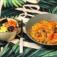 韩式泡菜炒饭VS泡菜汤面