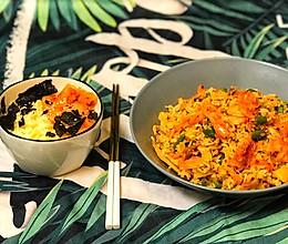 韩式泡菜炒饭VS泡菜汤面的做法