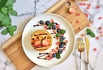 缤纷水果原味松饼#令人羡慕的圣诞大餐#的做法