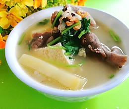 #中秋团圆食味#东北-土豆冻豆腐羊肉汤的做法