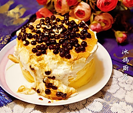 【网红爆款】海盐流心珍珠爆浆蛋糕的做法