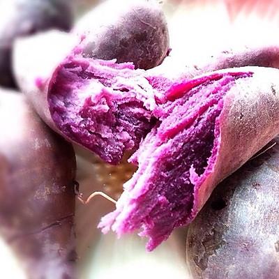 奶香紫薯饼的做法 步骤2