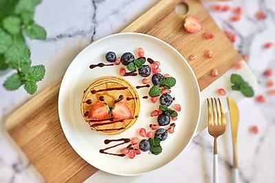 缤纷水果原味松饼#令人羡慕的圣诞大餐#