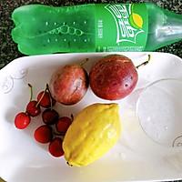 #父亲节,给老爸做道菜#百香果樱桃饮的做法图解1