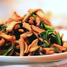 韭菜炒香干—迷迭香