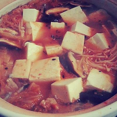 韩国泡菜汤 ´▽`  真酱好好吃哇