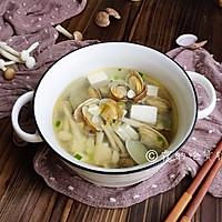 #520,美食撩动TA的心!#花蛤豆腐菇菇汤的做法图解12