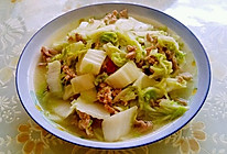 白菜炒肉丝的做法