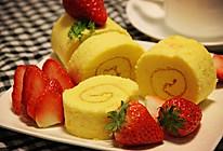 美美哒——草莓蛋糕卷 #憋在家里吃什么#的做法