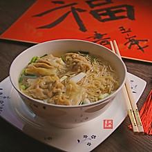 鲜虾云吞面#钟于经典传统味#
