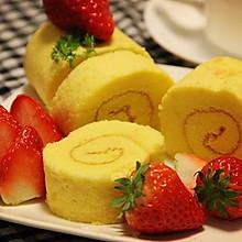 美美哒——草莓蛋糕卷