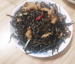 干豆角焖五花肉的做法