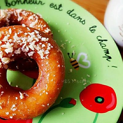 酥松粒甜甜圈