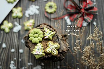 圣诞曲奇---一秒做一个,一秒吃一个
