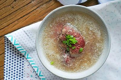 承味养颜润色猪肝汤