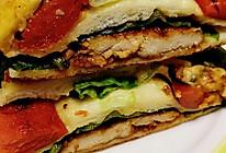 速食餐~鸡胸肉三明治的做法