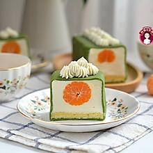 抹茶麻糬奶酪蛋糕卷