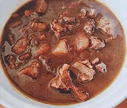 半小时土豆烧牛腩的做法