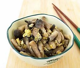 蘑菇炒鸡蛋的做法