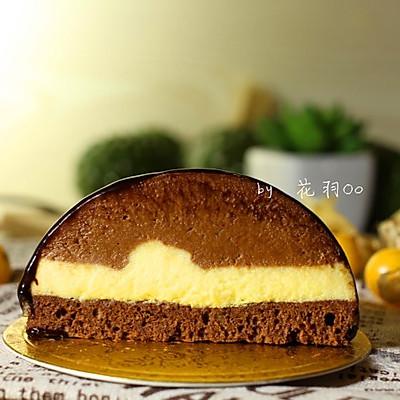 巧克力的升级魔法——百香果巧克力慕斯(附巧克力淋面)