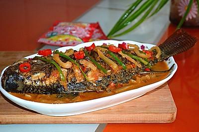 榨菜罗非鱼——乌江榨菜