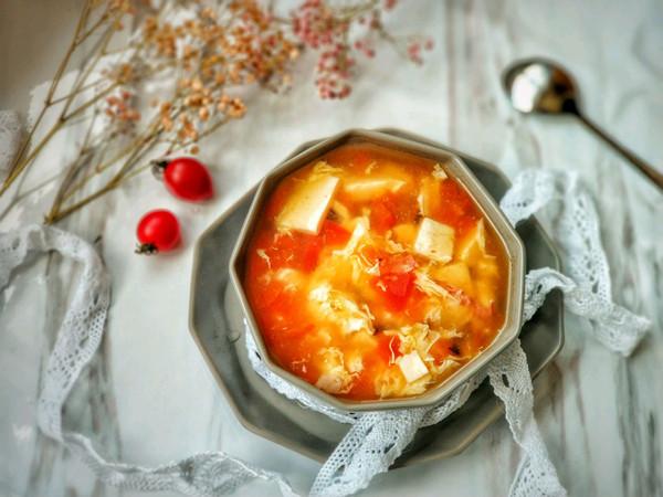 懒人开胃酸辣汤,西红柿的另类打开方式的做法