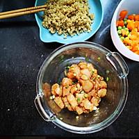 减脂鸡丁杂蔬炒藜麦的做法图解3
