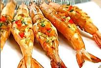 蒜香焗大虾的做法