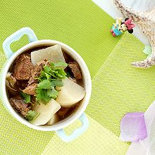 #一周减脂不重样# 清炖牛肉萝卜汤