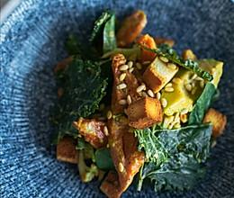 秋食:温拌蔬菜沙拉的做法
