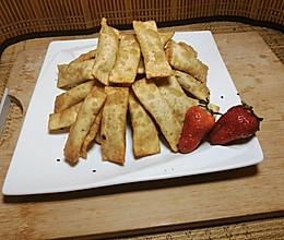 吃剩的馄饨叶做高大尚的春卷的做法