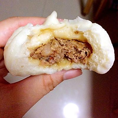 香菇猪肉包-又白又蓬松