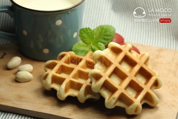有趣的早餐-比利时咖啡松饼