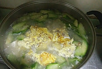 丝瓜豆腐鸡蛋汤的做法