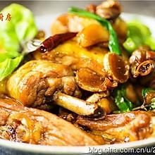 曼步厨房 - 台式三杯鸡