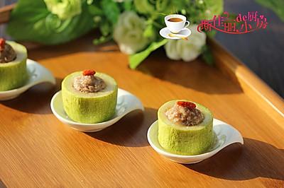 肉酿蒸笋瓜