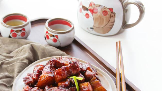 电饭煲做快手红烧肉的做法