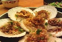 最惹味的扇贝——蒜蓉粉丝蒸扇贝的做法