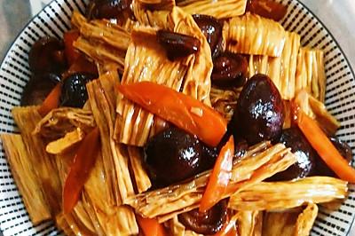 #就是红烧吃不腻!#红烧香菇腐竹