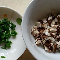 香菇肉末蒸蛋的做法图解2
