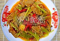 泡椒猪肝(特下饭,加了莴笋更好吃)的做法