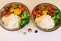 快手囤食:椰浆咖喱鸡肉饭的做法