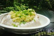 夏吃姜滴#姜葱茸清蒸鱼腩#的做法